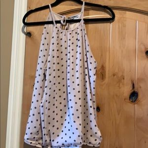Express Polka Dot Blouse